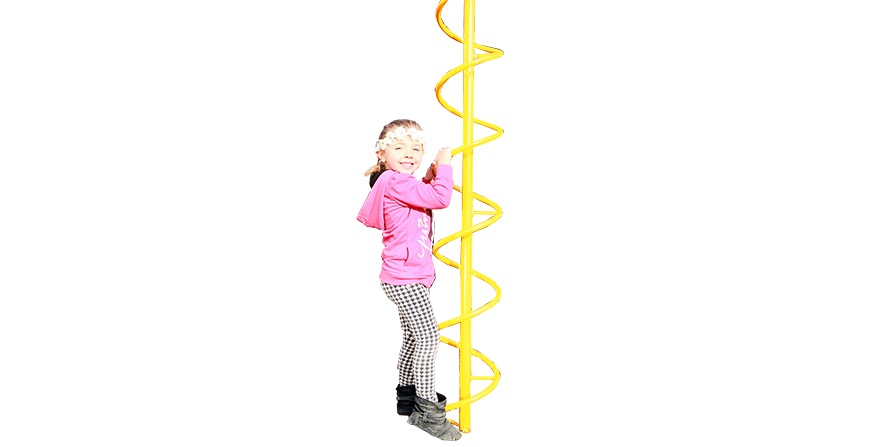 MODEL #11B Corkscrew Climber