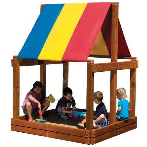 MODEL #14R Cozy Sandbox 5.2' x 5.2' RYB