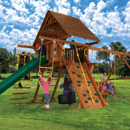 Design 20A - Sunshine Super Turbo Castle Pkg II w/ Wood Roofs & More