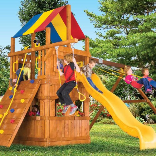 Design 37D - Carnival Clubhouse Pkg II w/ Playhouse