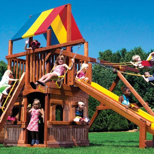 Rainbow Clubhouse Pkg II w/ Playhouse (41D)