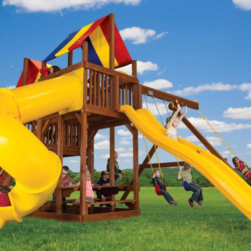 Design 45B - King Kong Base Clubhouse Dual Slides