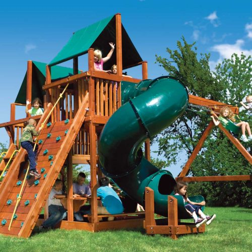 Design 46C - King Kong Clubhouse Pkg II w/ Spiral Slide