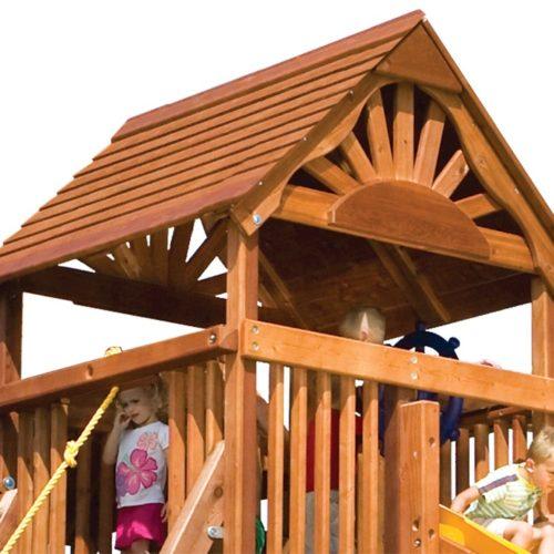 MODEL #9C Club Wooden Roof w/ Fan (swap)
