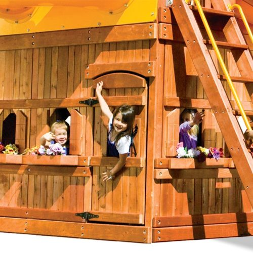 MODEL #9S Monster Lower-Level Playhouse 5.2' x 7.8'