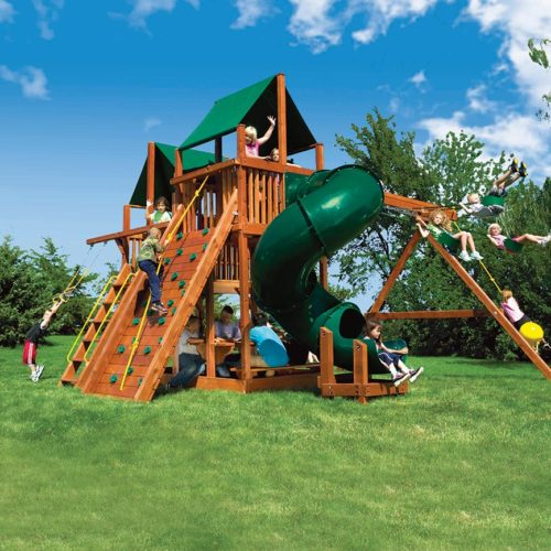 53C King Kong Clubhouse Pkg II Loaded with 360 Spiral Slide A1 2