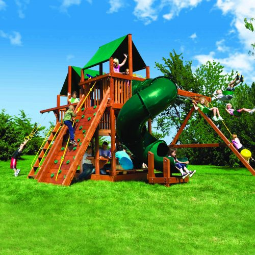 45B King Kong Clubhouse Pkg II with 360 Spiral Slide A1