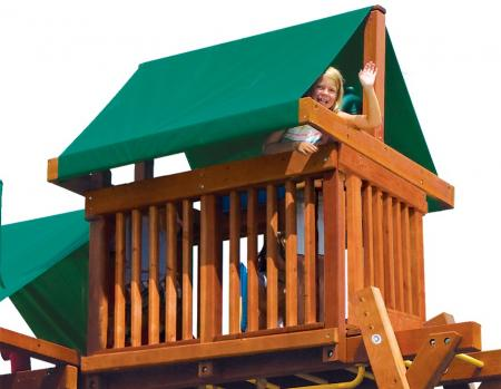 MODEL #14D Forest Green Penthouse Canopy