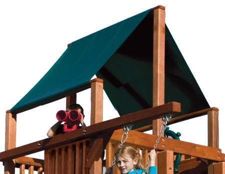 MODEL #9B Club Forest Green Canopy